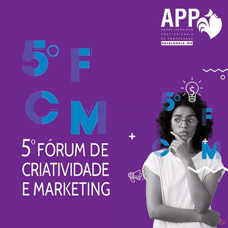 APP - 5º Fórum de Criatividade | Gravaton